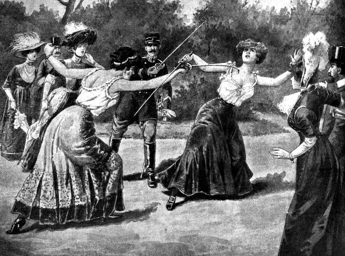 duelo de damas em paris